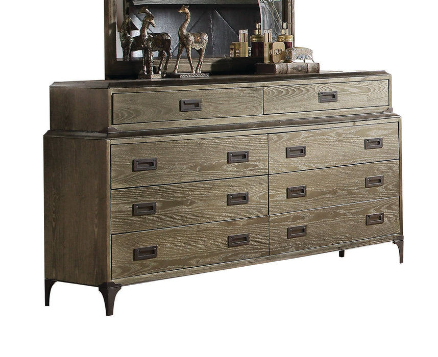 Athouman Weathered Oak Dresser image