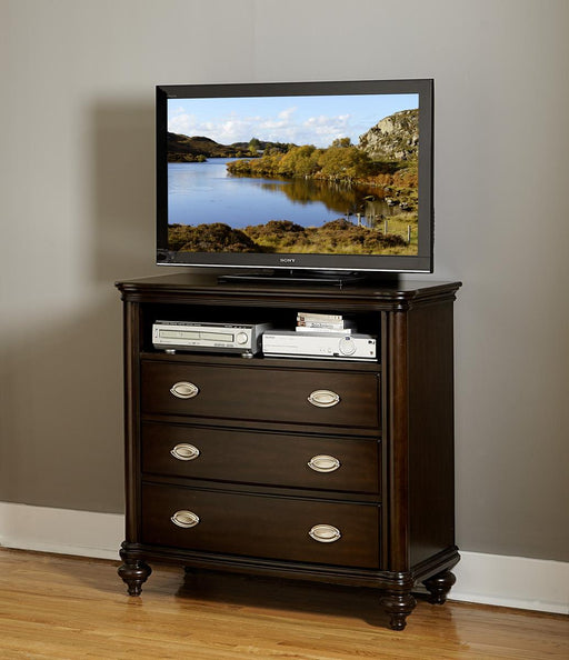Homelegance Marston TV Chest in Dark Cherry 2615DC-11 image