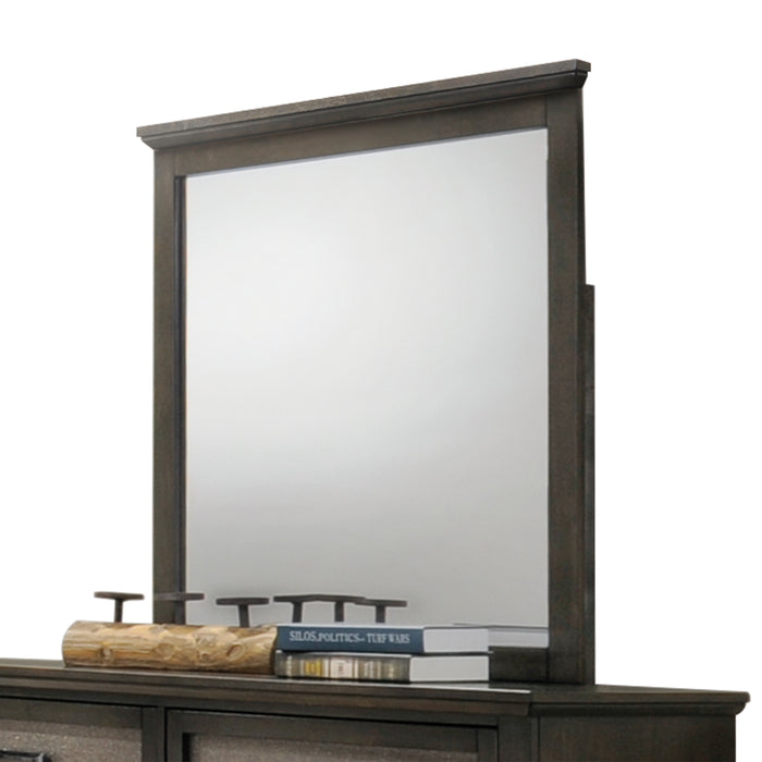 Anatole Dark Walnut Mirror image