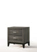 Valdemar Weathered Gray Nightstand image