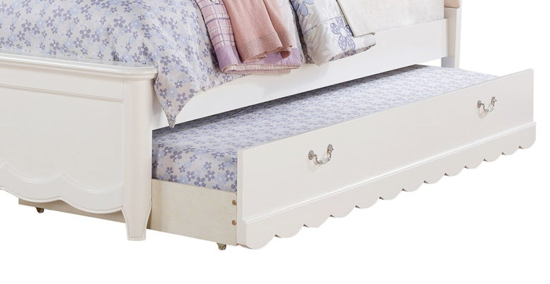 Cecilie White Trundle (Twin) image