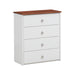 Farah White & Oak Chest image