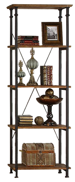 Homelegance Factory Bookcase in Rustic Brown 3228-12 image