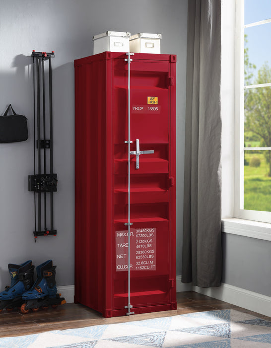 Cargo Red Wardrobe (Single Door) image