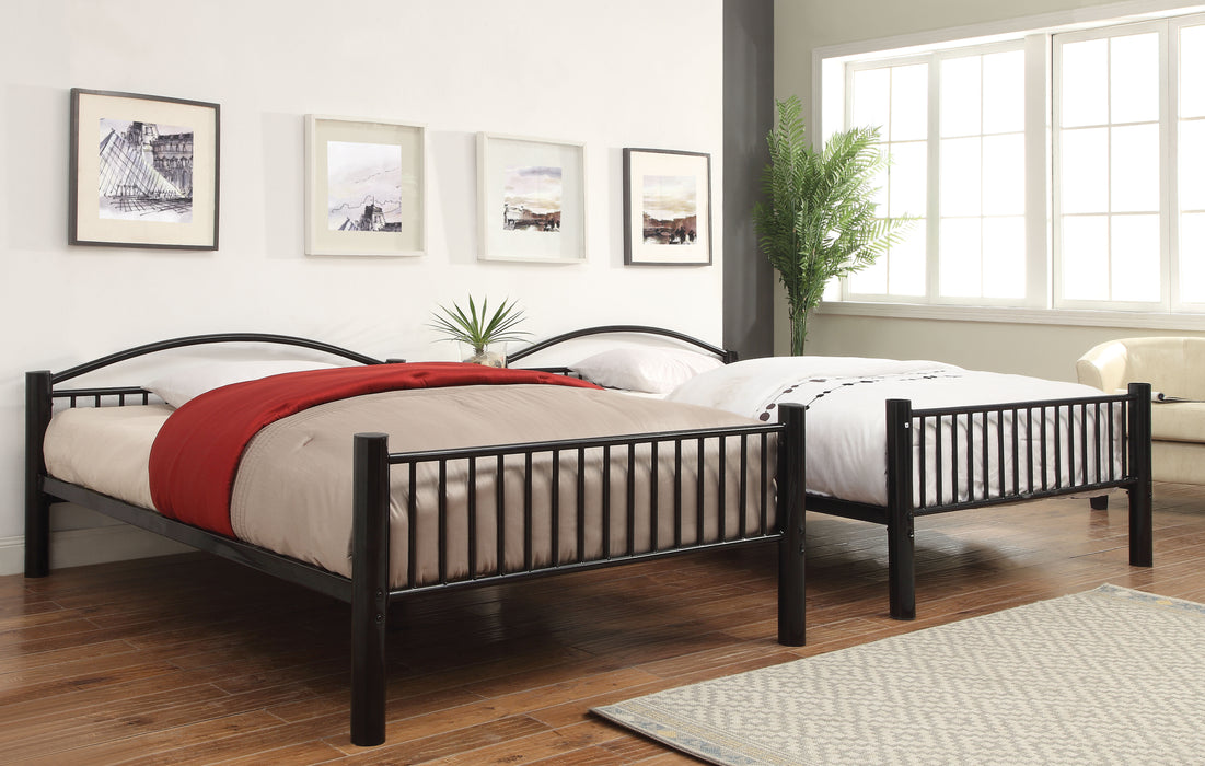 Cayelynn Black Bunk Bed (Full/Full) image