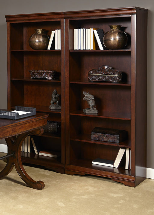 Liberty Brookview Open Bookcase in Rustic Cherry 378-HO201 image