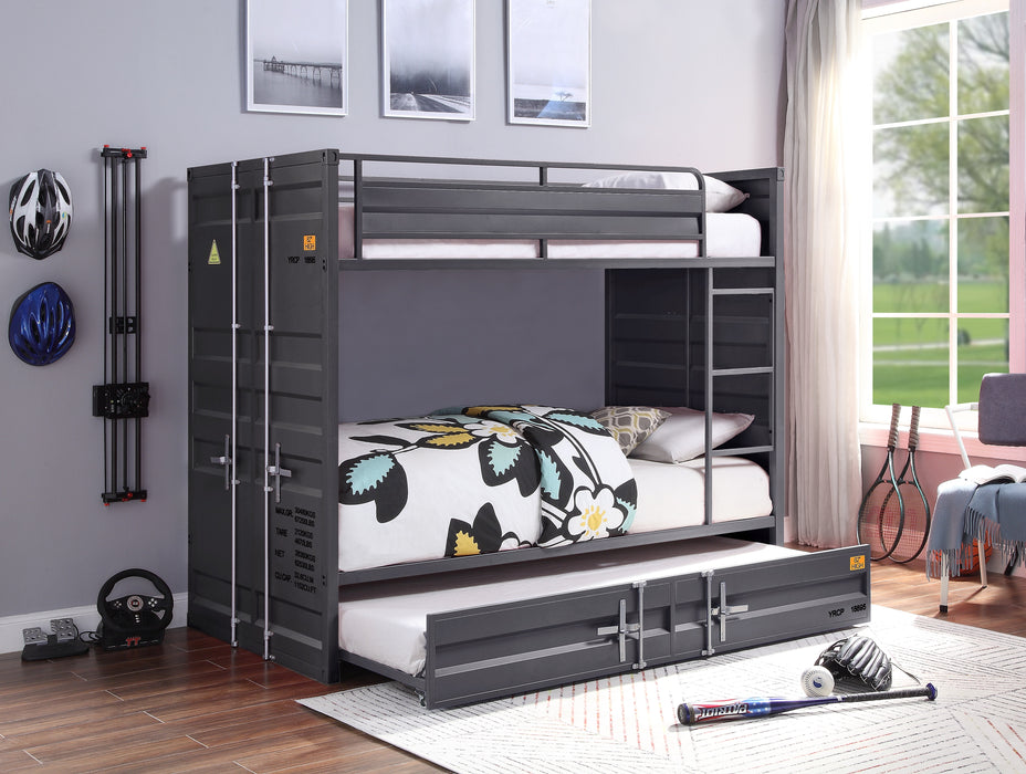 Cargo Gunmetal Bunk Bed (Twin/Twin) image