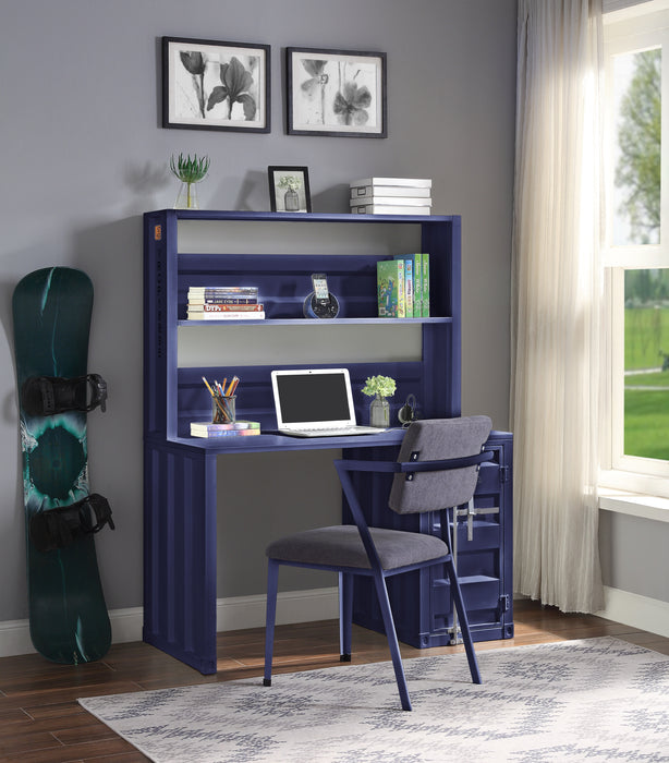 Cargo Blue Desk & Hutch image