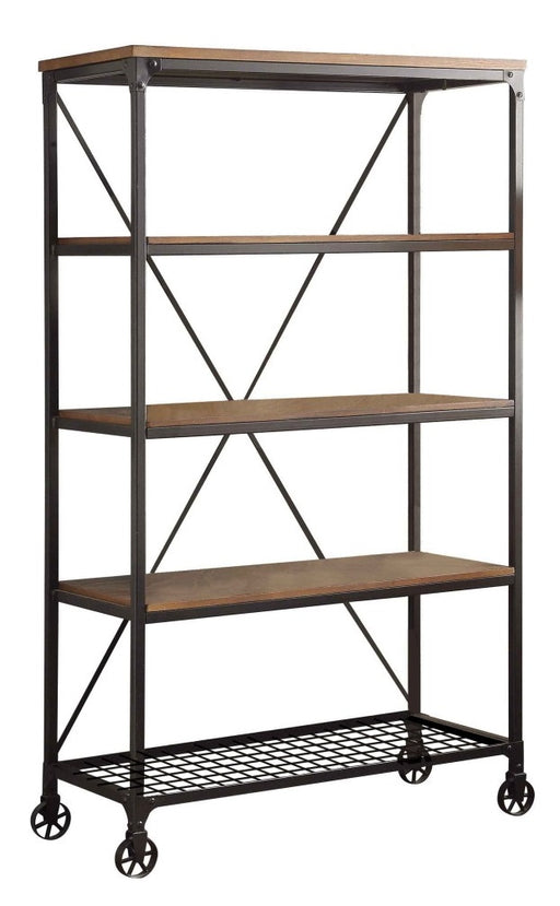 "Homelegance Millwood 40""W Bookcase in Pine 5099-17 image"