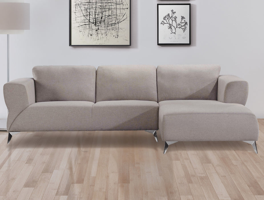 Josiah Sand Fabric Sectional Sofa image