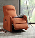Kasia Orange Linen Recliner w/Power Lift image
