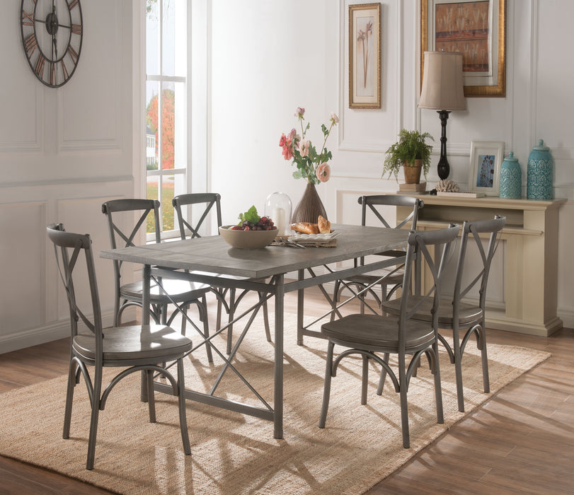 Kaelyn II Gray Oak & Sandy Gray Dining Table image
