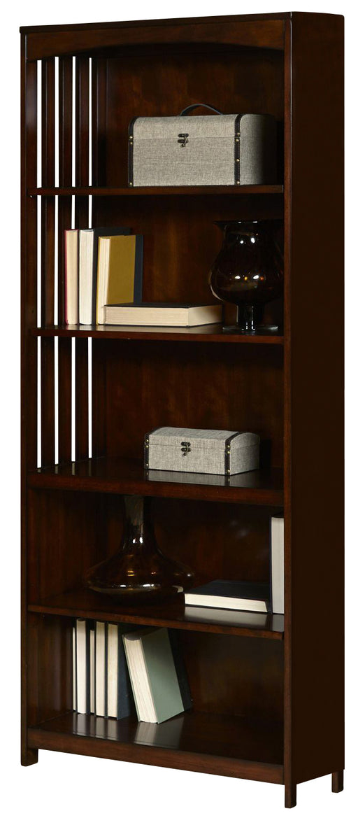 Liberty Hampton Bay Open Bookcase in Cherry 718-HO201 image