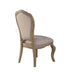 Chelmsford Beige Fabric & Antique Taupe Side Chair image