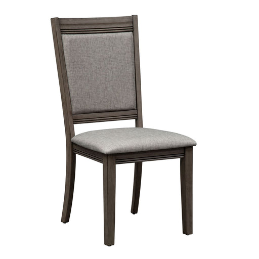 Liberty Furniture Tanners Creek Upholstered Side Chair (RTA) in Greystone 686-C6501S (Set of 2) image