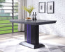 Bernice Black Counter Height Table image