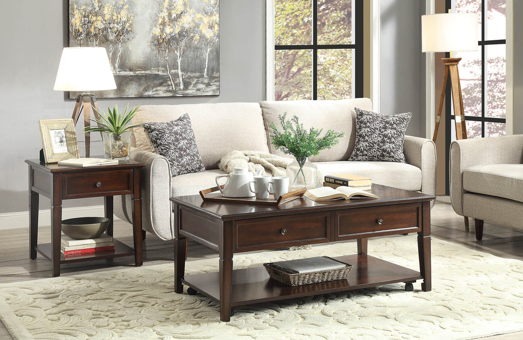 Malachi Walnut Coffee Table image