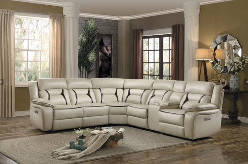 Homelegance Furniture Amite 6pc Sectional Sofa in Beige image