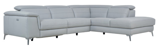 Homelegance Furniture Cinque 2pc Sectional with Right Chaise in Gray 8256GY* image