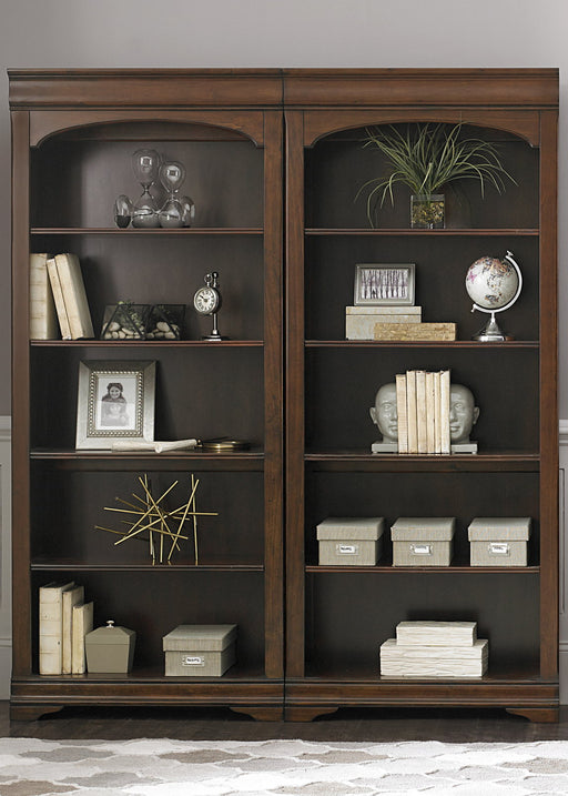 Liberty Furniture Chateau Valley Bunching Bookcase in Brown Cherry 901-HO201 image