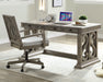 Artesia Salvaged Natural Executive Desk image