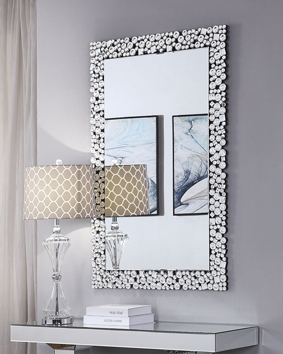 Kachina Mirrored & Faux Gems Wall Decor image