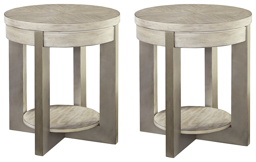 Urlander Signature Design 2-Piece End Table Set