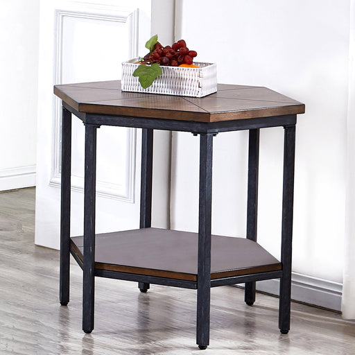 Ultimo Hexagon End Table image