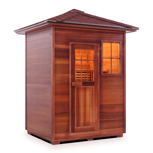 Enlighten Sauna - Moonlight 3 Dry Traditional Sauna