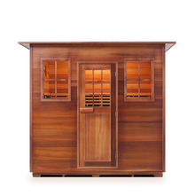 Load image into Gallery viewer, Enlighten Sauna - Sapphire 5 Indoor Infrared/Traditional Hybrid Sauna