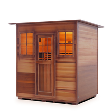 Load image into Gallery viewer, Enlighten Sauna - Sapphire 4 Indoor Infrared/Traditional Hybrid Sauna