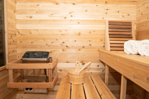 Canadian Timberline Luna Model - Traditional Outdoor Sauna (12 Week Lead Time)