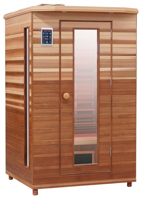 Health Mate Enrich 2 Infarared Sauna facing right with white background