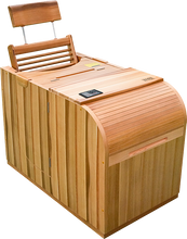 Load image into Gallery viewer, Health Mate - Essential Lounge Infrared Sauna facing right