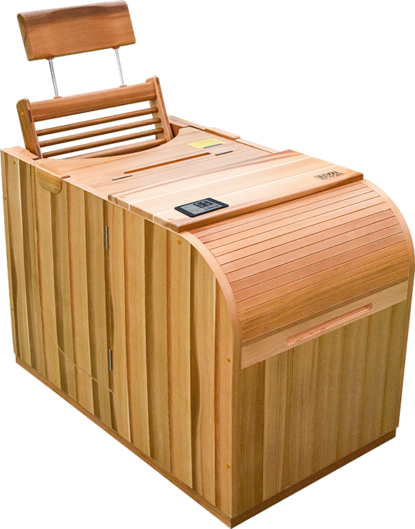 Health Mate - Essential Lounge Infrared Sauna facing right