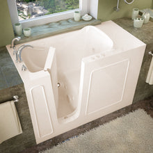 Load image into Gallery viewer, MediTub Walk-In 26 x 53 Left Drain Biscuit Whirlpool Jetted Walk-In Bathtub - 2653LBH