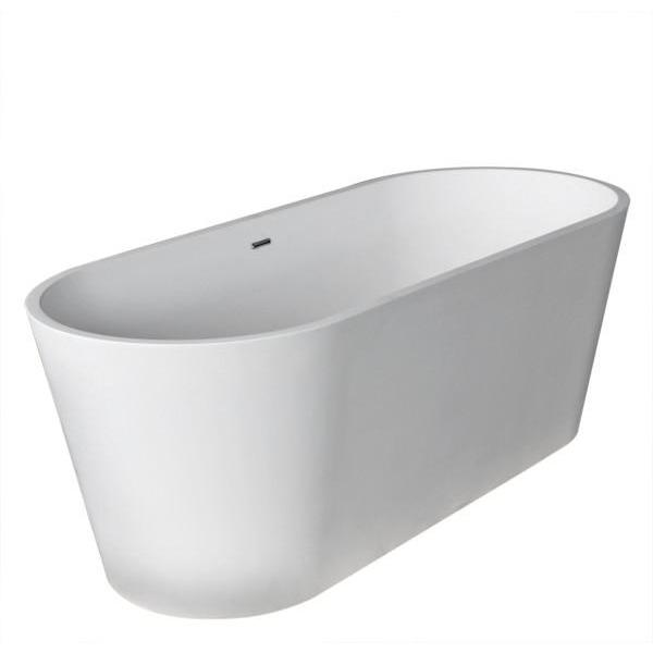 Atlantis Whirlpools Cavendish 30 x 67 Artificial Stone Freestanding Bathtub