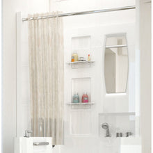 Load image into Gallery viewer, MediTub Shower Enclosure 31 x 40  3-Piece Walk-In Bathtub Surround in White - 3140SEN