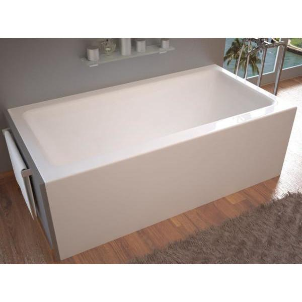 Atlantis Whirlpools Soho 32 x 60 Front Skirted Air Massage Tub with Left Drain - 3260SHAL