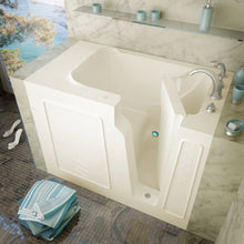 Load image into Gallery viewer, MediTub Walk-In 29 x 52 Left Drain Biscuit Soaking Walk-In Bathtub - 2952LBS