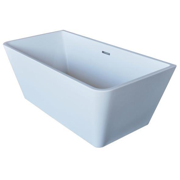 Atlantis Whirlpools Lyvia 32 x 67 Rectangle Acrylic Freestanding Bathtub - 6731LYSXCWXX