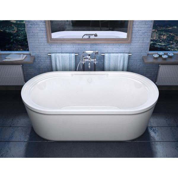 Atlantis Whirlpools Royale 34 x 67 Oval Freestanding Soaker Bathtub - 3467RS