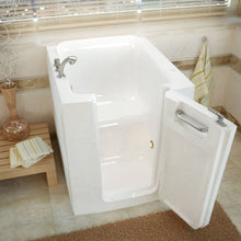 Load image into Gallery viewer, MediTub Walk-In 32 x 38 Right Door White Soaking Walk-In Bathtub - 3238RWS