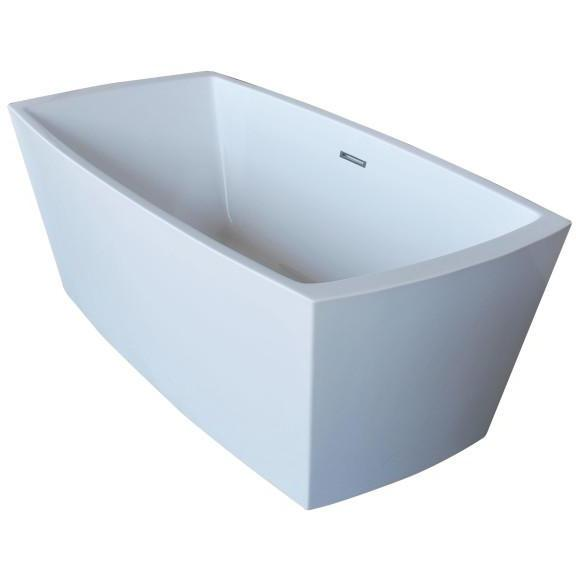 Atlantis Whirlpools Antione 32 x 67 Rectangle Acrylic Freestanding Bathtub