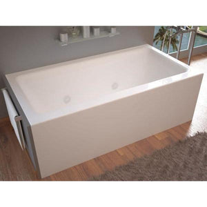 Atlantis Whirlpools Soho 30 x 60 Front Skirted Whirlpool Tub with Left Drain - 3060SHWL