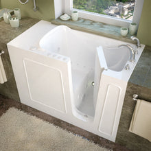 Load image into Gallery viewer, MediTub Walk-In 26 x 53 Right Drain White Whirlpool & Air Jetted Walk-In Bathtub - 2653RWD