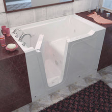 Load image into Gallery viewer, MediTub Walk-In 36 x 60 Left Drain White Whirlpool Jetted Walk-In Bathtub - 3660LWH