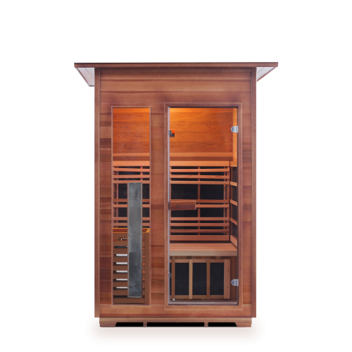 Enlighten Sauna - Diamond 2 Indoor Infrared/Traditional Hybrid Sauna