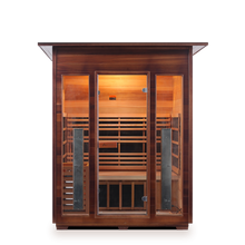 Load image into Gallery viewer, Enlighten Sauna - Diamond 3 Indoor Infrared/Traditional Hybrid Sauna