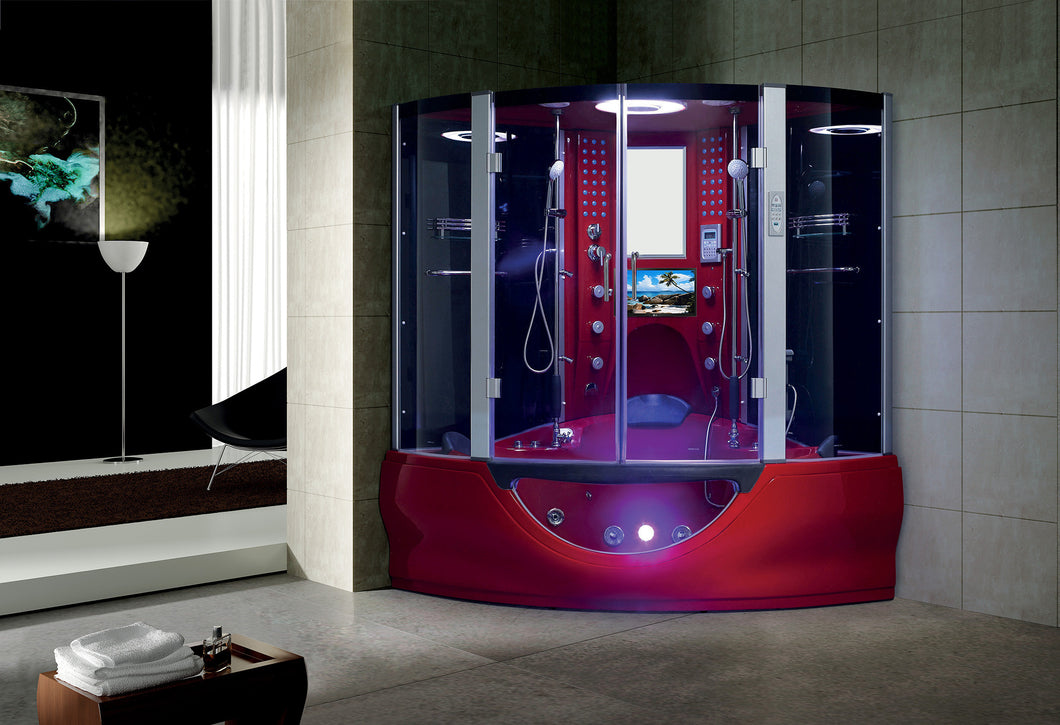 Maya Bath The Superior Steam Shower - Red